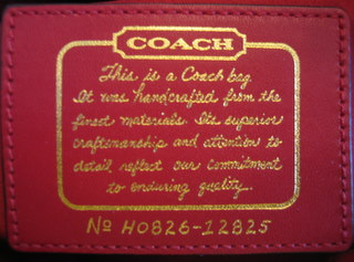 Coach Creed Gold